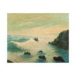 illegible-signature-oil-on-cardboard-sea-landscape